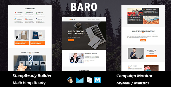 ngo - multipurpose responsive email template with online stampready builder access (newsletters) NGO – Multipurpose Responsive Email Template With Online Stampready Builder Access (Newsletters) baro