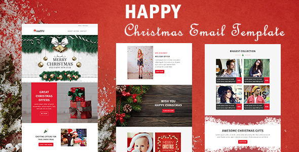 Shopping - Ecommerce Responsive Email Template with Stampready Builder Access - 1
