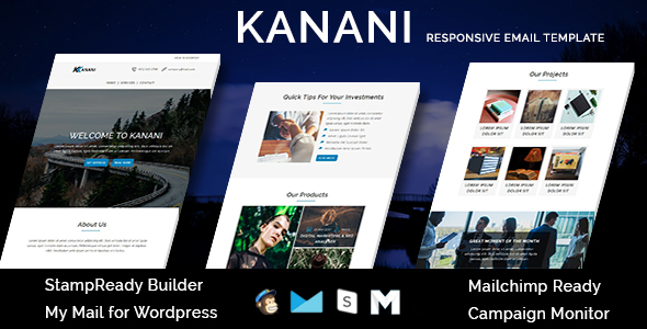 Travel - Responsive Email Template with Stamp Ready Builder Access - 3